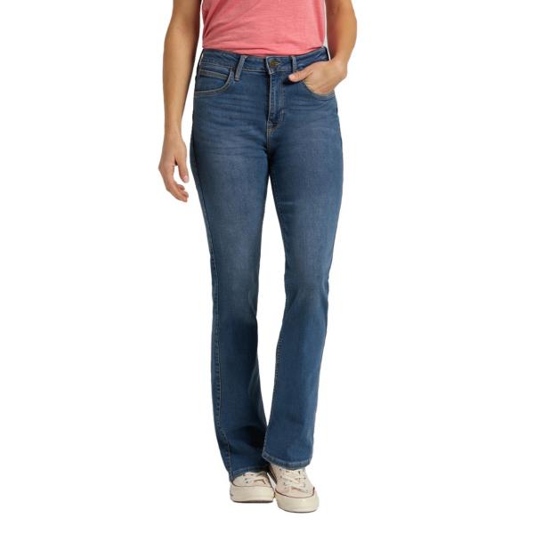 LEE Breese Women Jeans Bootcut - Mid Worn Martha (L31TQDTO)