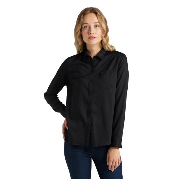 LEE One Pocket Women Shirt - Black (L45T-GF-01)