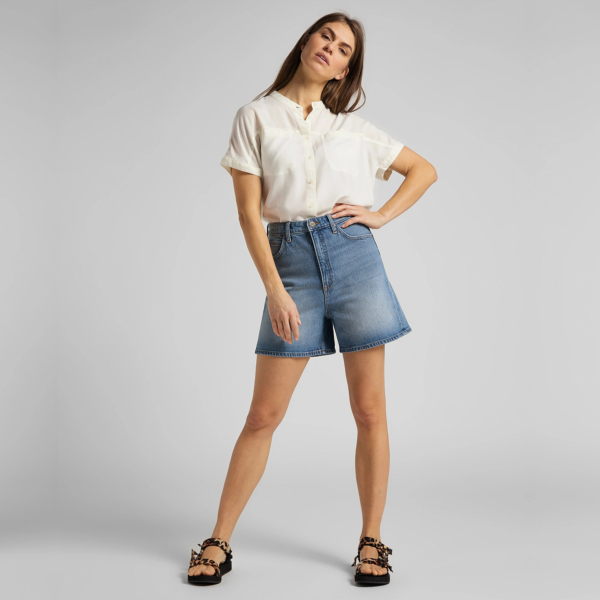 LEE Stella Denim Shorts for Women - Mid Soho (L37EMWKP)