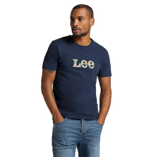 LEE Summer Logo Tee - Navy (L63LFE35)