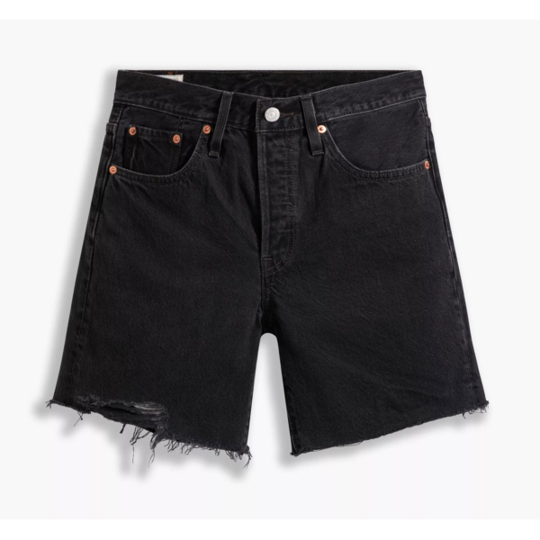 Levi's® 501® Mid Thigh Women Shorts - Lunar Black (85833-0016)