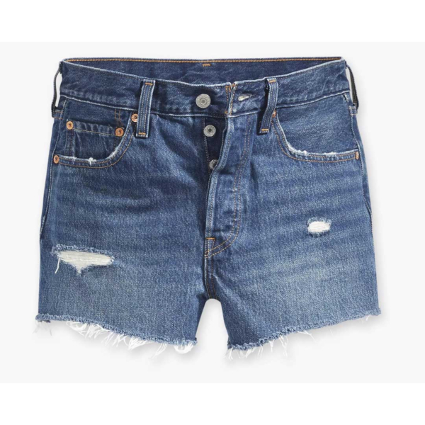 Levi's® 501® Original Fit™ Women Denim Shorts - Silver Lake (56327-0018)
