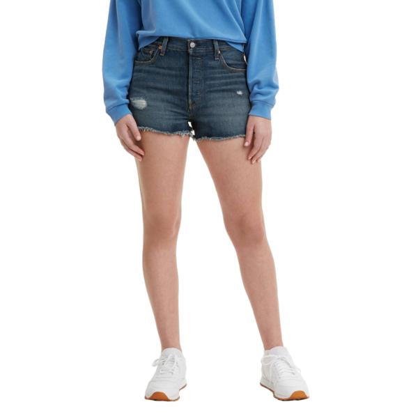 Levi's® 501® Original Fit™ Women Denim Shorts - Silver Lake (56327-0018)