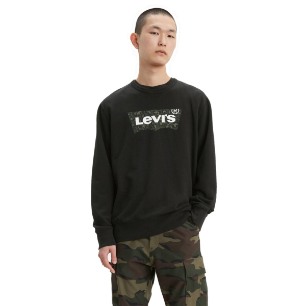 Levi's® Graphic Crew HM Animal - Mineral Black (17895-0090)