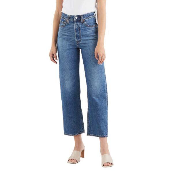 Levi's® Ribcage Straight Ankle Jeans - Noe Fog (72693-0079)