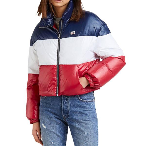 Levi's® Sam Puffer ColorBlock Women Jacket - Peacoat (56311-0002)
