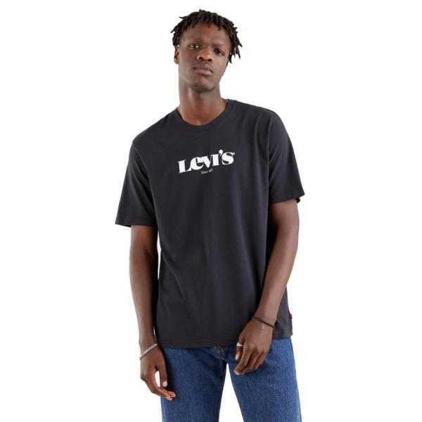 Levi's® SSNL Logo Relaxed Tee - Caviar (16143-0084)