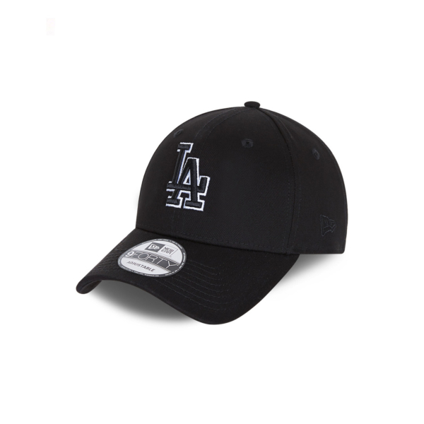 NEW ERA LA Dodgers Black Base 9Forty Cap (60112645)