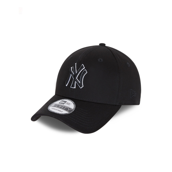 NEW ERA NY Yankees Black Base 9Forty Cap (60112644)