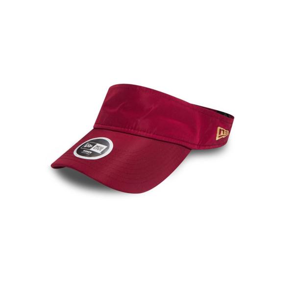 NEW ERA Womens Sport Visor Cap - Cardinal (80536539)