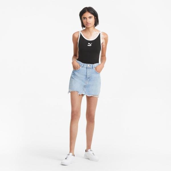 PUMA Classics Sleeveless Bodysuit - Black (599581-01)