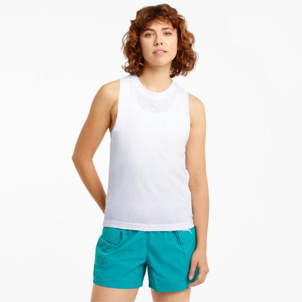 PUMA Evide Mesh Tank Top - White (599773-02)