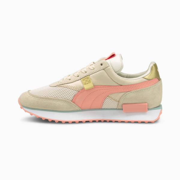 PUMA Future Rider Chrome Women Sneakers - Eggnog/ Apricot Blush (375081-02)