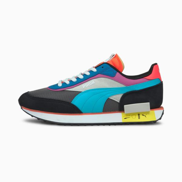 PUMA Future Rider Icons Sneakers - Castlerock/ Black (380723-02)
