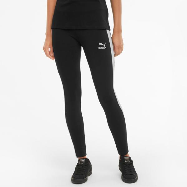 PUMA Iconic T7 Mid Rise Leggings - Black (530080-01)