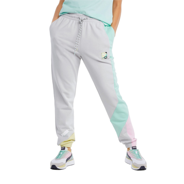 PUMA International Track Pants for Women - Gray Violet (531659-09)