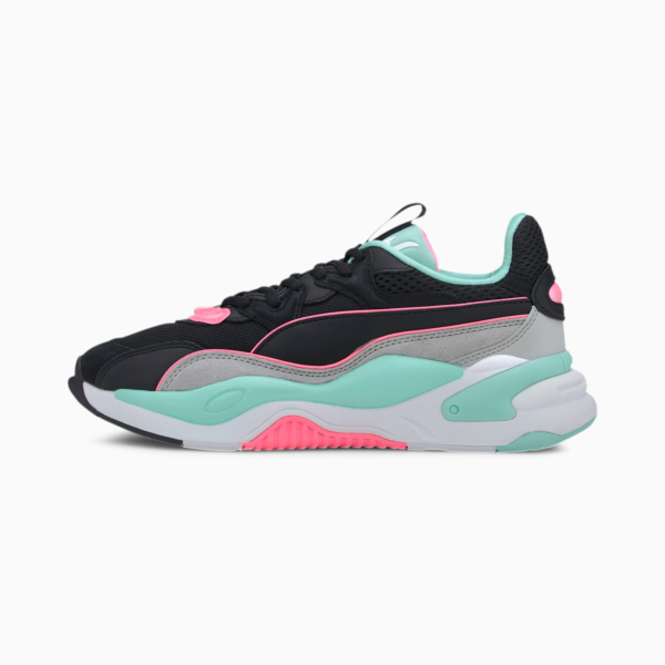 PUMA RS-2K Messaging Women Sneakers - Black/ High Rise (372975-04)