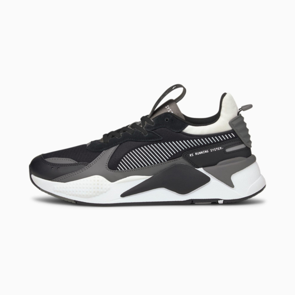 PUMA RS-X Mix Sneakers - Black/ Castlerock (380462-03)