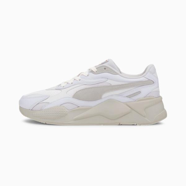 PUMA RS-X³ Luxe Sneakers - White/ Whisper White (374293-01)