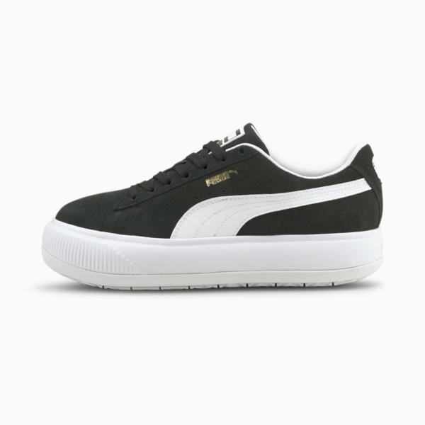 PUMA Suede Mayu Women Sneakers - Black/ White (380686-02)