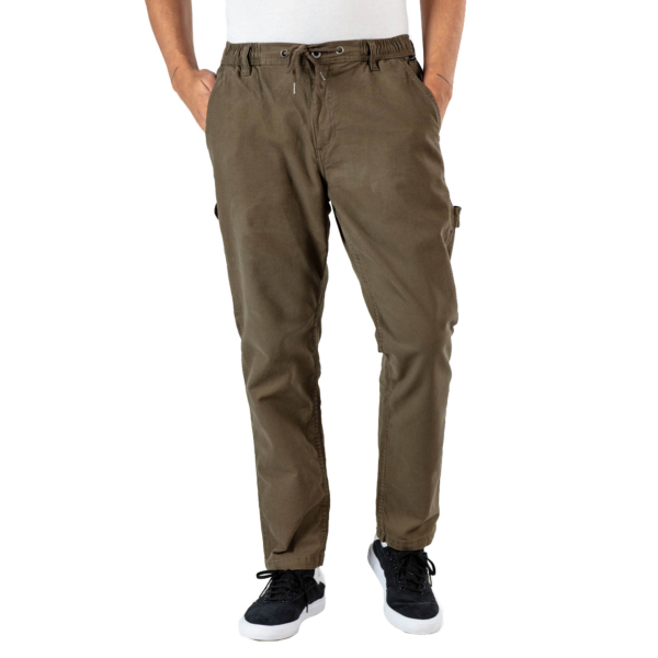 REELL Reflex Easy Worker Pants Canvas - Clay Olive (RLJ19516)