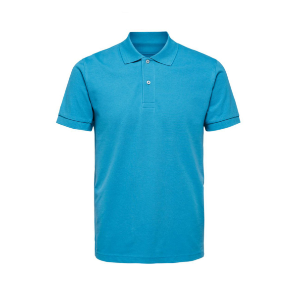 SELECTED Neo Pique Polo (16077364-Bluejay)