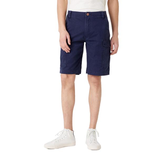WRANGLER Casey Cargo Shorts - Lakeport Blue (W1C350B08)