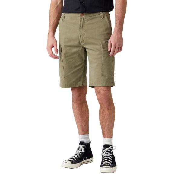 WRANGLER Casey Cargo Shorts - Lone Tree Green (W1C350G38)