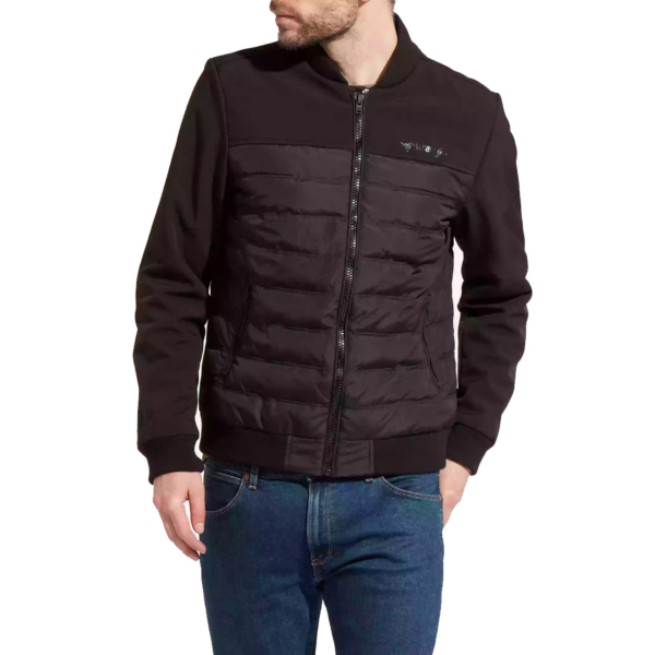 WRANGLER Straight Bomber Men Jacket - Black (W4741X301)