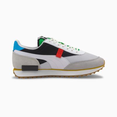 PUMA Future Rider Unity Αθλητικα Παπούτσια Λευκό/ Μαυρο  (373384-01)