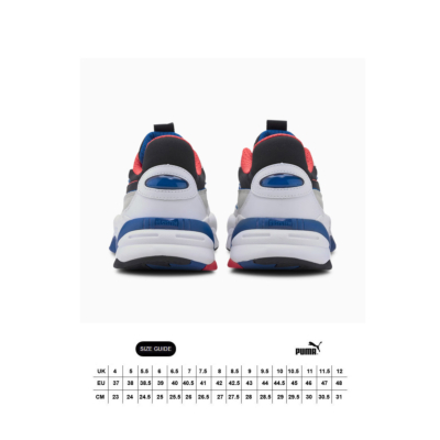 PUMA RS-2K Internet Exploring Sneakers - White/ Lapis Blue (size guide)
