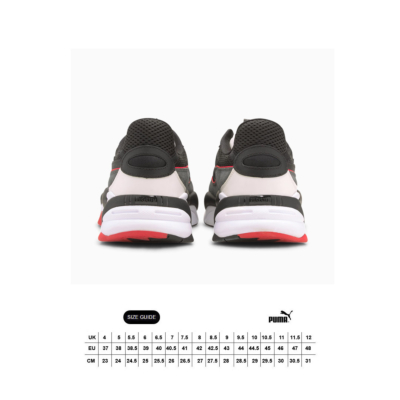 PUMA RS-2K Messaging Sneakers - Black/ Dark Shadow (size guide)