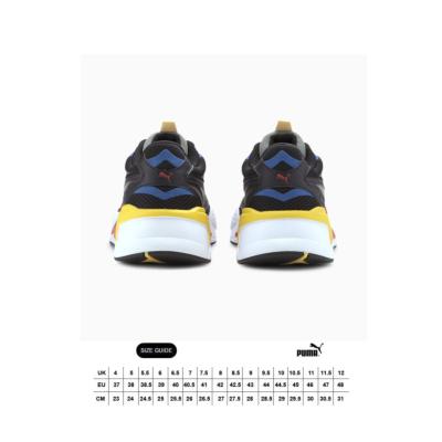 PUMA RS-X³ Millenium Sneakers - Black/ Hi Risk Red (size guide)