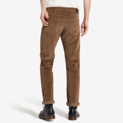 WRANGLER Arizona Cord Trousers Men Regular - Teak (W12OEC455)