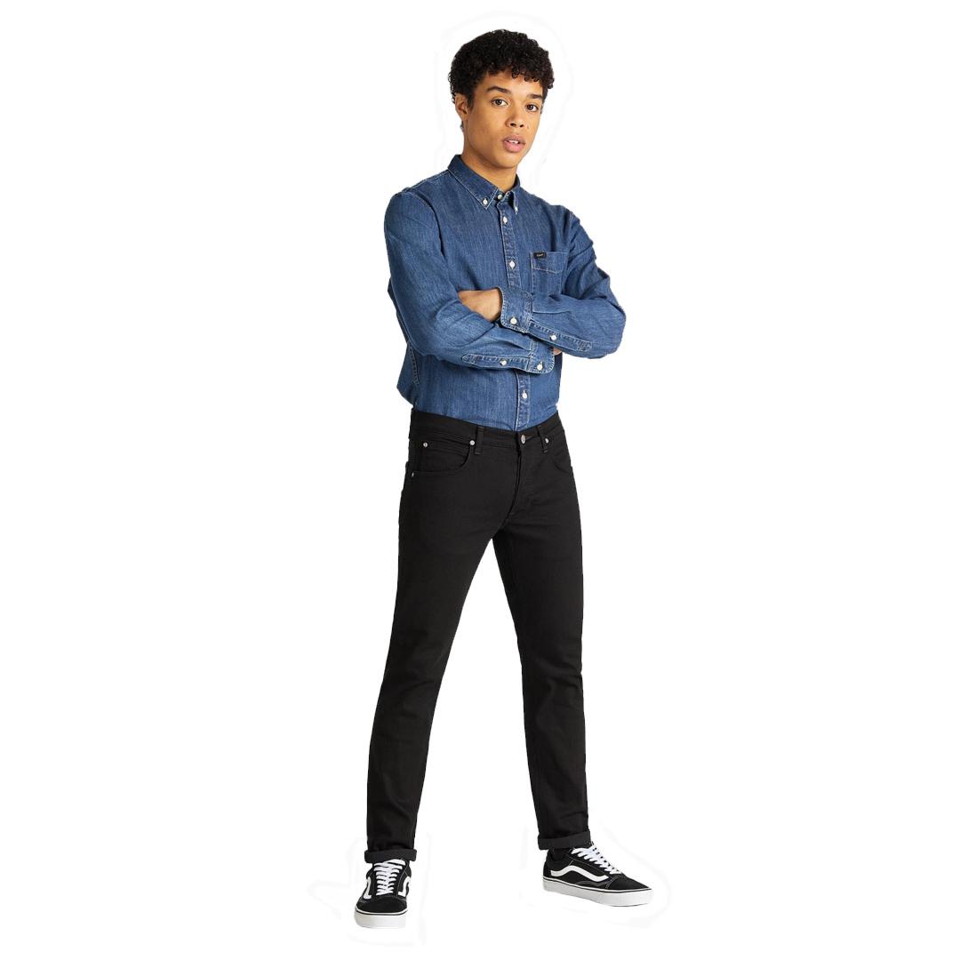 LEE Jeans Daren Regular Fit - Clean Black (L706-HF-AE)