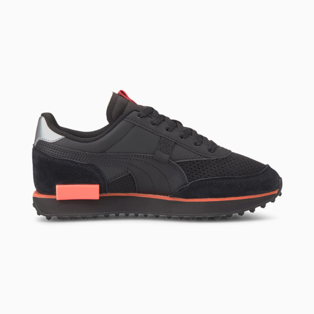 PUMA Future Rider Tulle Αθλητικά Παπούτσια Γυναικεία Μαύρο (374134-02)