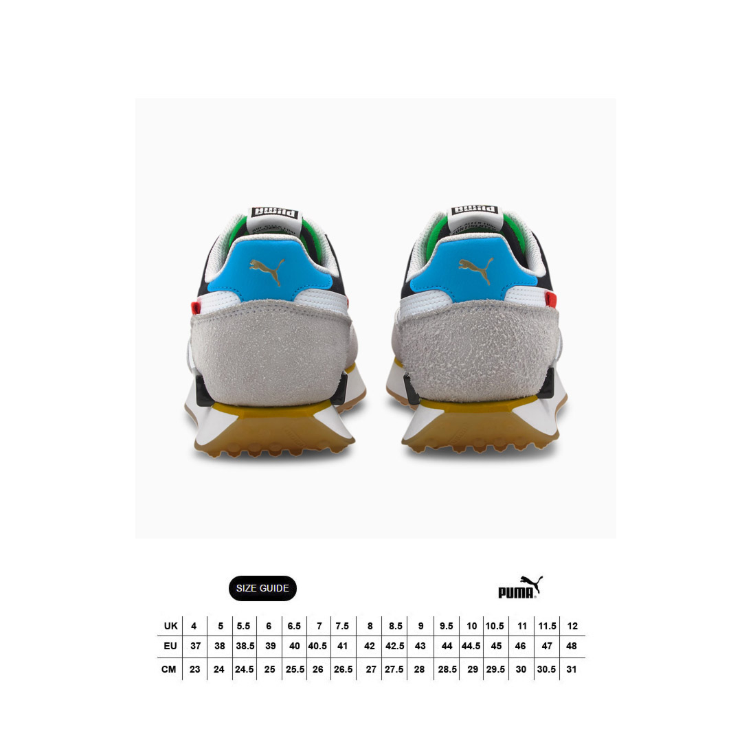 PUMA Future Rider Unity Collection Sneakers - White/ Black (size guide)