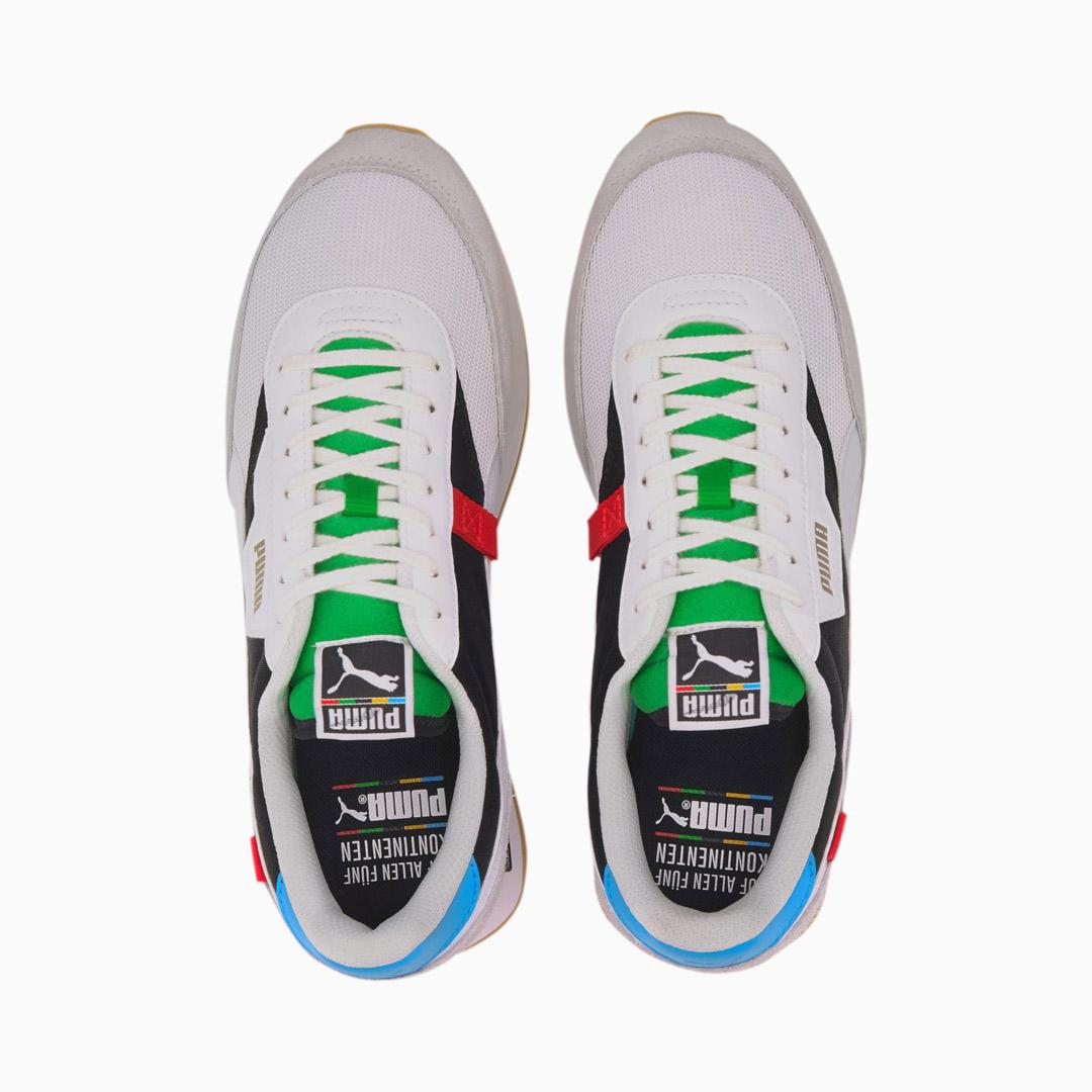 PUMA Future Rider WH Sneakers - White/ Black (373384-01)
