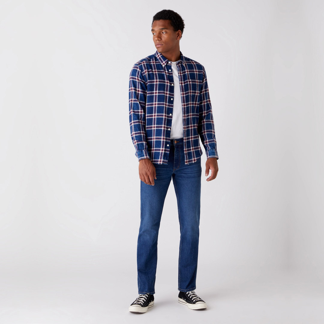 WRANGLER Greensboro Jeans Regular Cut - Frost Bite